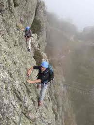 manuali di alpinismo Ferrata sul Gran Sasso