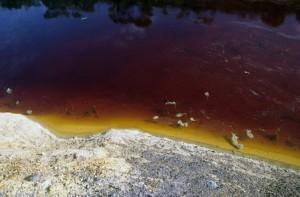 lago rosso solforata particolare