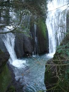 luoghi segreti a due passi da Roma la cascata della mola di Formello