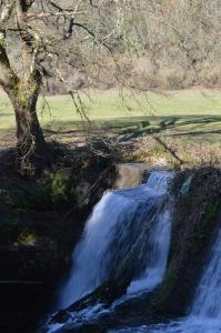 cascata della mola di Formello - parte superiore