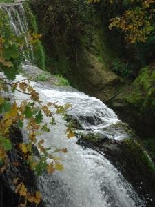 grotte Franca e cascata della mola di Formello