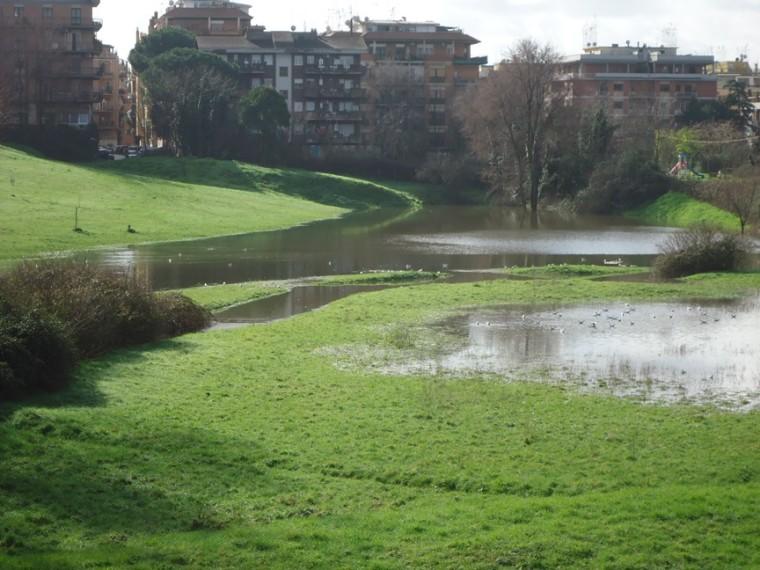 I luoghi segreti a due passi da Roma il lago temporaneo di viale Ionio 3