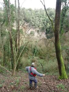 Luogi segreti a due passi da Roma buca San Francesco presso pozzo del Merro