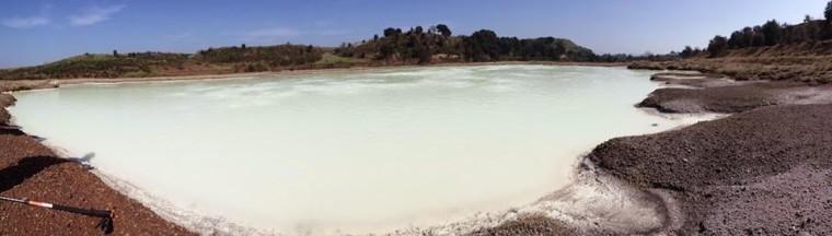 la seconda guida ai luoghi segreti - solforata di pomezia lago bianco