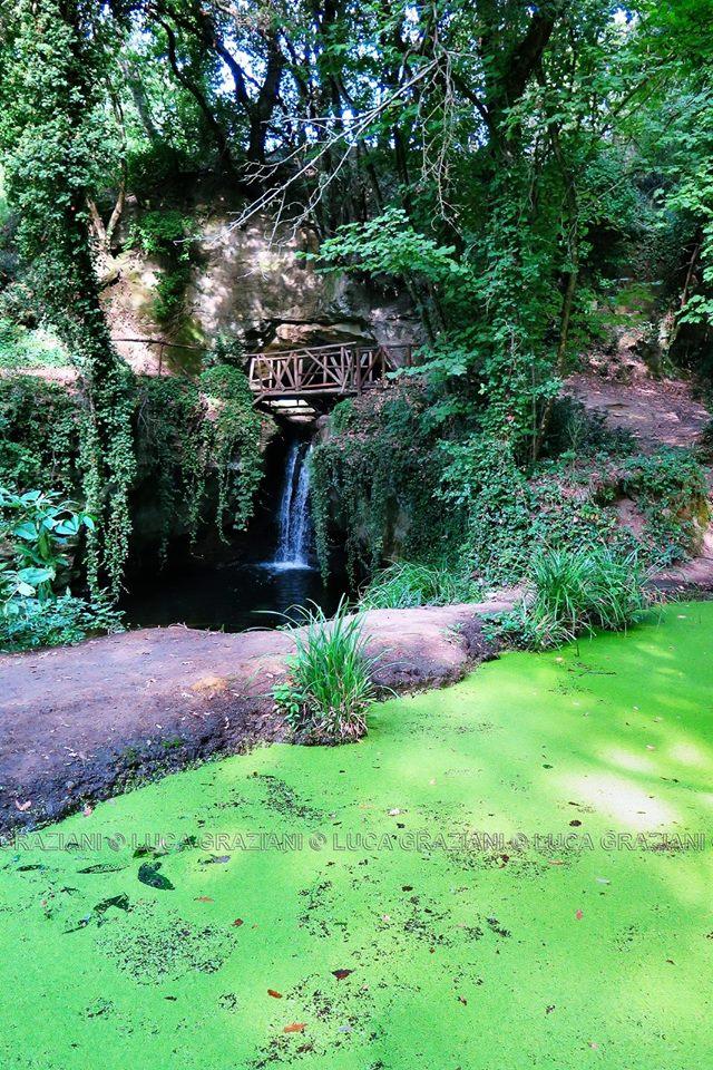 Fosso degli Olmetti Luoghi segreti nel parco di Veio foto di L.Graziani