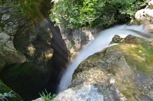 la cascata del Corese segreti vicino Roma