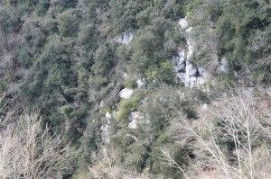 la parete verticale di fossa Ampilla