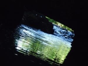 la cascate dell'Arrone prima della mola di Galeria