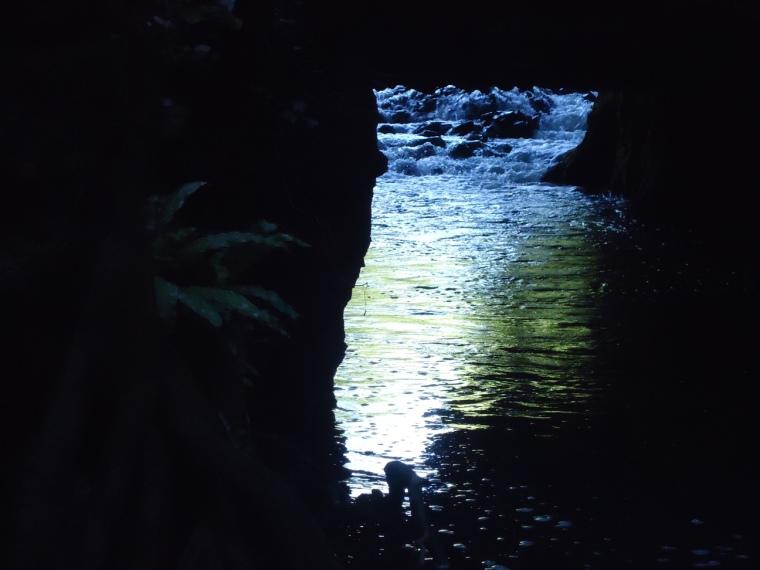 le cascatelle dell'Arrone prima della mola di Galeria
