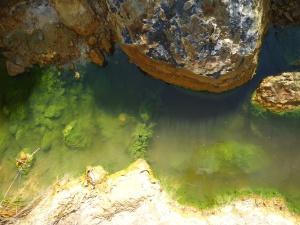 emissario del lago vermiglio solforata di pomezia