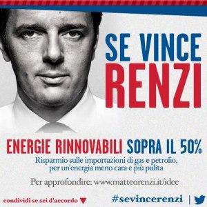risparmio energetico e Renzi