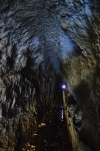 segreti nel parco di Veio - acquedotto etrusco nel fosso della Torraccia