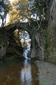 l'avventura a Roma la cascata e la mola di Formello