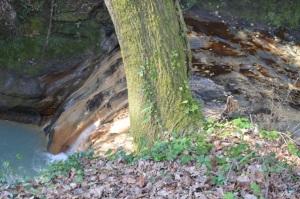 fosso dell'Acqua Forte cascata