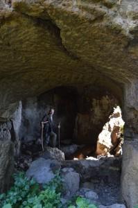 abitazioni ipogee a Filissano