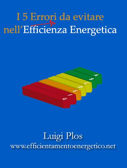 efficienza energetica e energy service company