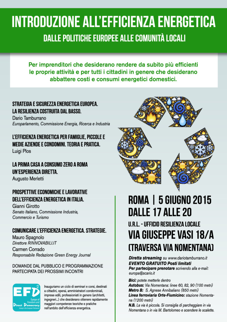 introduzione all'efficienza energetica