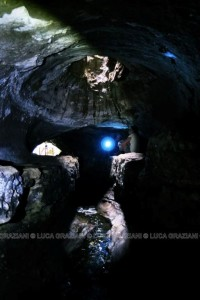 le gallerie di Formello - all'interno del Fosso degli Olmetti Foto di Luca Graziani