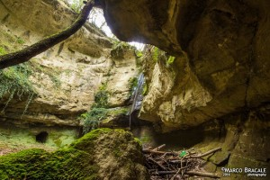 La cascata dell'Inferno nel Parco di Veio foto di Marco Bracale