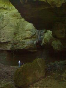 La Cascata dell'Inferno nel Parco di Veio