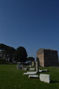 il paesaggio nei pressi di Roma Malborghetto