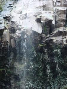 La Forra di Pentima Stalla particolare della cascata di mezzo