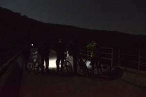 traversata notturna sopra il Mignone