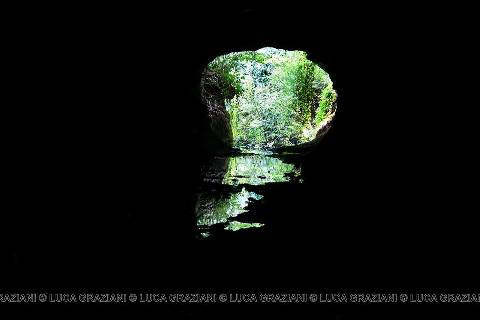 Gallerie etrusche presso il Fosso degli Olmetti foto di Luca Graziani