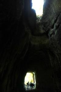 Sette luoghi etruschi vicino Roma - le gallerie di Pietra Pertusa