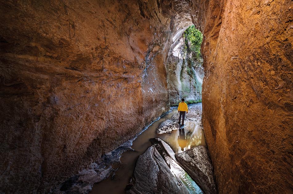 escursioni del 2019 all'uscita delle cave del Fosso del Drago - foto di Paolo Petrignani