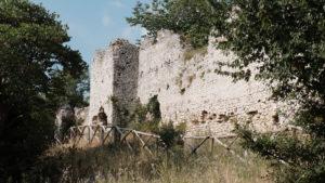 la fortificazione di Castiglione a Palombara