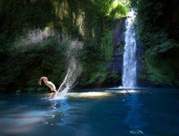 Downshifting e luoghi segreti - la cascata del Picchio - vicino Roma - foto di D.Giannetti