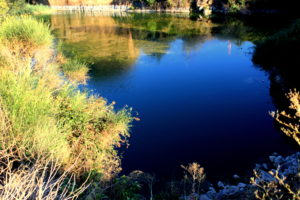 uno dei laghi delle Cave di Salone