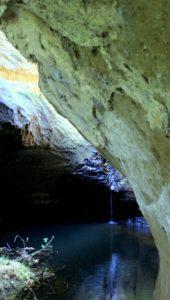nelle gallerie etrusche di Sacrofano