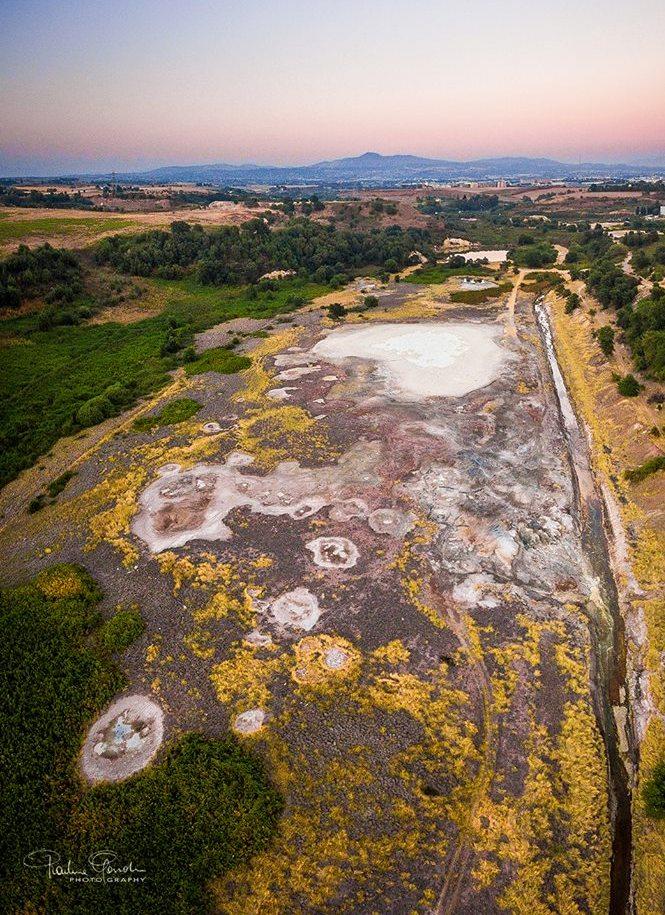 Escursioni a chilometro zero - i laghi della solforata di Pomezia. Foto di G.Gandini