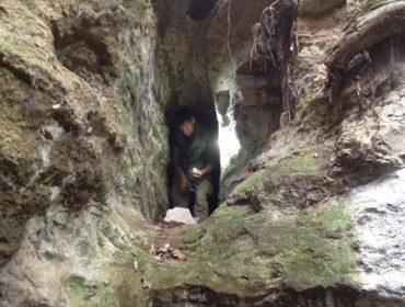 Diego e i suoi cunicoli del parco di Veio