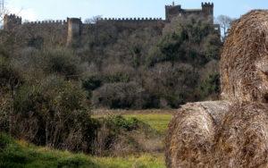da San Vittorino a Palestrina - il castello di Passerano