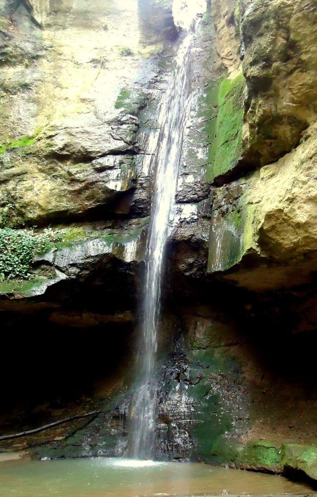 gli itinerari più avventurosi - la cascata dell'Inferno - 1