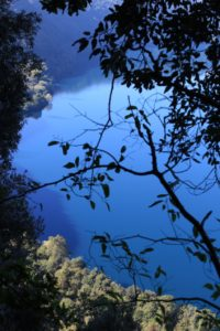 Panorama del lago di Albano da un luogo segreto - la Pentima della Vecchiaccia