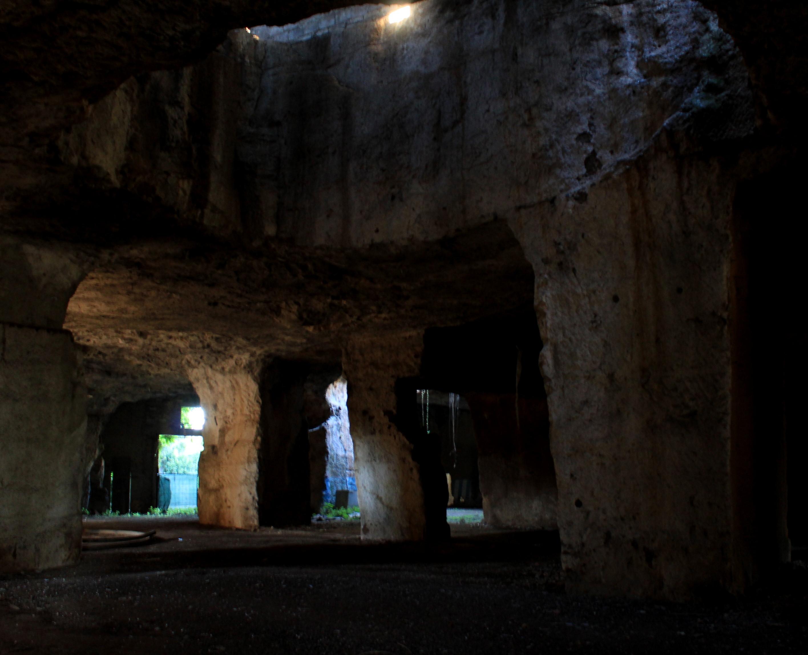 fra i luoghi fantasy vicino Roma - le cave di Salone
