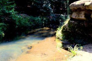 segreti presso Sacrofano - presso la scala nella roccia