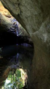 Gli ultimi luoghi segreti a due passi da Roma - galleria di uso idraulico presso Sacrofano