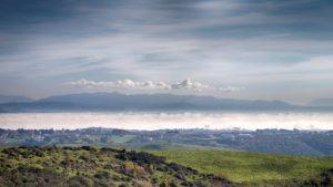 L'eremo di S.Silvestro panorama dal monte S.Silvestro - foto di Giovanni Giuliani