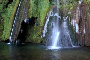 la cascata di S. Vittorino