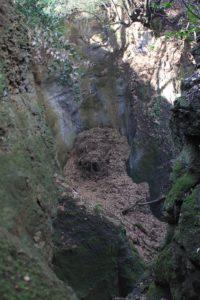 gola laterale del fosso dell'Acqua Raminga