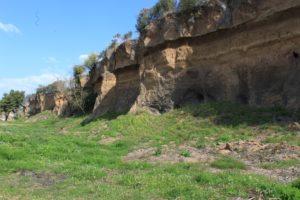 un altro acrocoro di roccia sulla Tiburitina non distante dalla torre di Albuccione