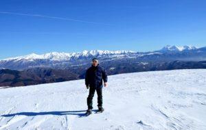 chi sono - la mia parte alpinistica - Monte Boragine e la conca di Amatrice