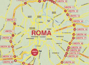 gli ultimi luoghi segreti - come sono disposti intorno a Roma