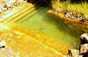 Le terme di S. Calogero - vasca termale di epoca micenea