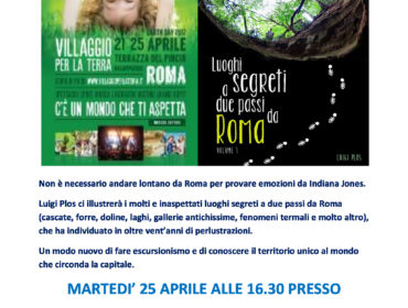 Luoghi segreti all'Earth Day